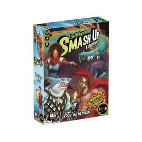 SMASH-UP EXT.- VOUS L'AUREZ VOULU (FR)