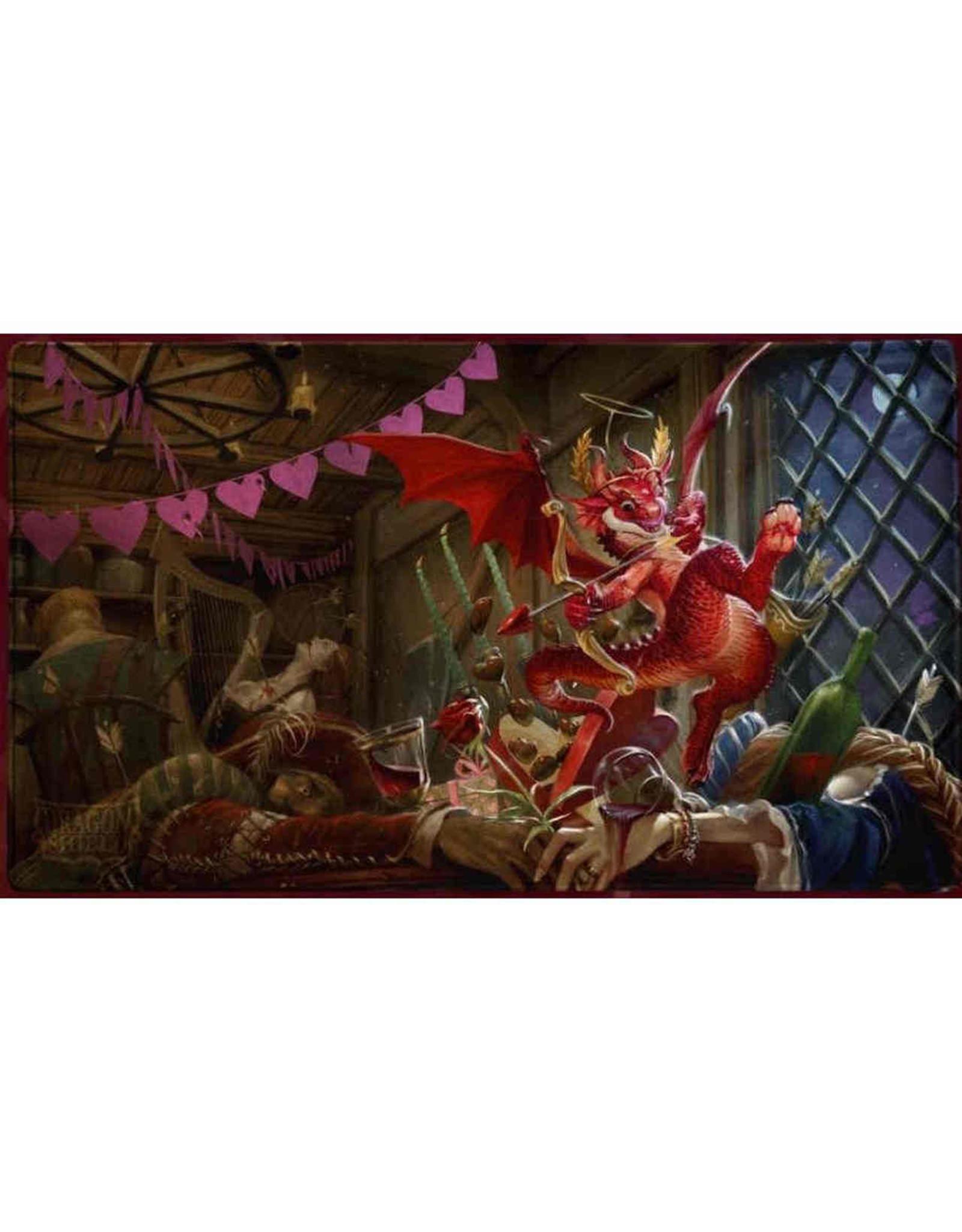 Arcane Tinmen DRAGON SHIELD PLAYMAT VALENTINE DRAGON 2020