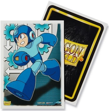 Arcane Tinmen DRAGON SHIELD SLEEVES ART MEGA MAN 100CT