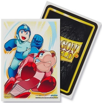 Arcane Tinmen DRAGON SHIELD SLEEVES ART MEGA MAN AND RUSH 100CT
