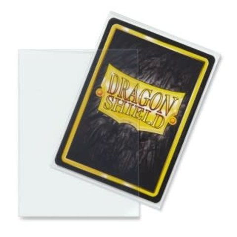 DRAGON SHIELD SLEEVES CLEAR 100CT