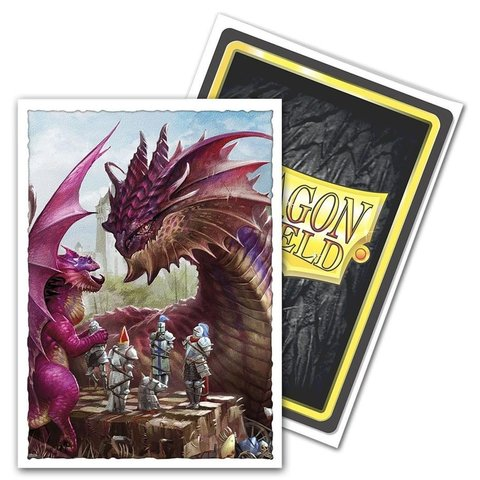 DRAGON SHIELD SLEEVES MATTE FATHER'S DAY DRAGON 100CT