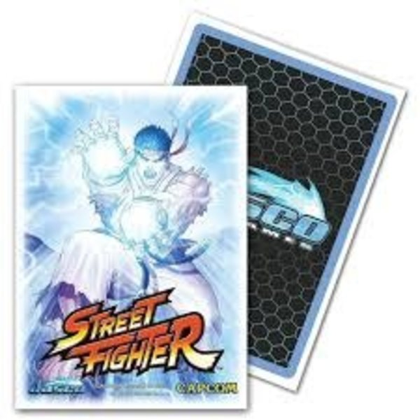 Arcane Tinmen JASCO SLEEVES CLASSIC ART STREET FIGHTER RYU 100CT