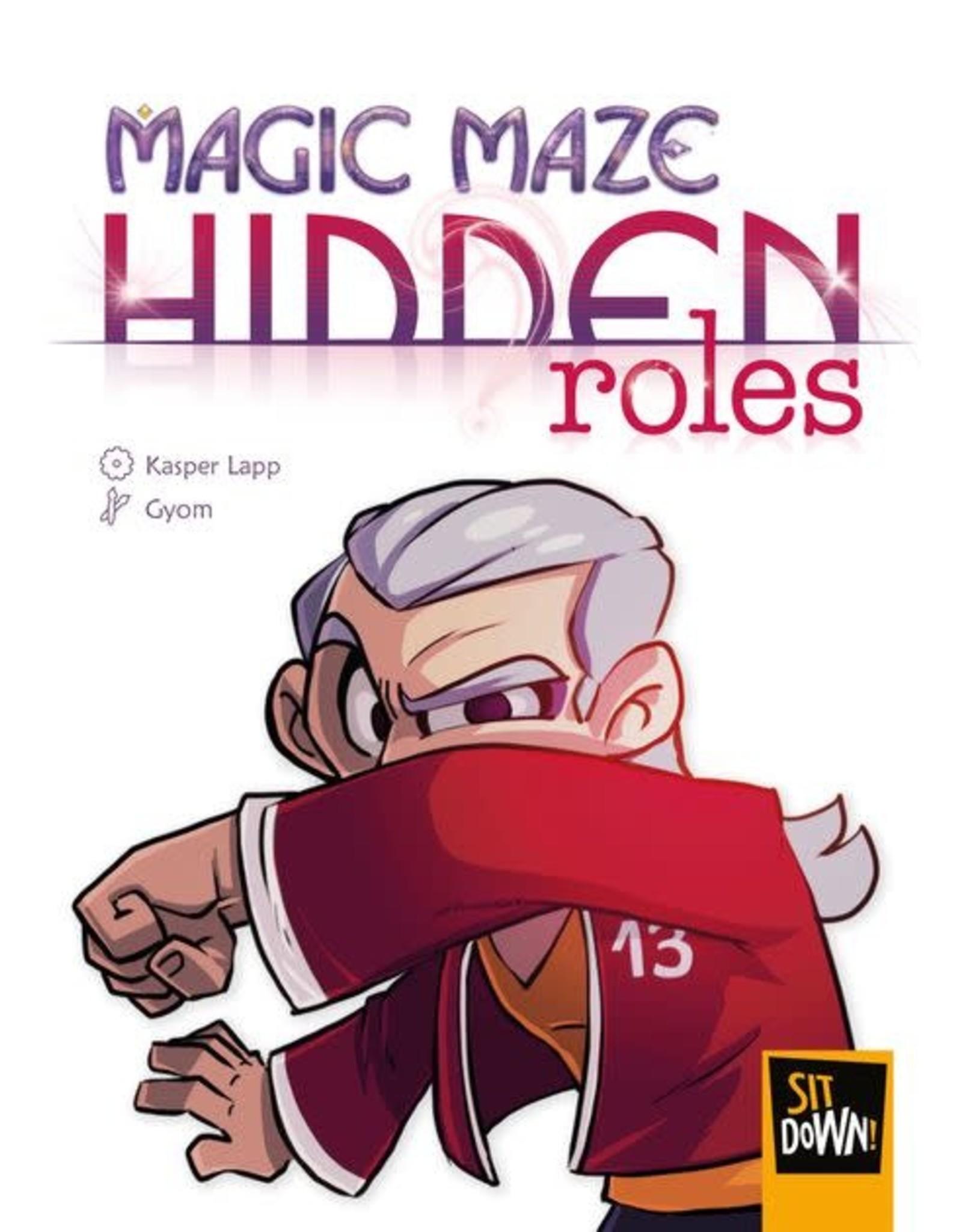 Sit Down Magic Maze: Hidden Roles