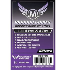 Mayday STANDARD USA SLEEVES 56MM X 87MM 100CT