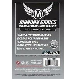 Mayday PREMIUM MAGNUM LOST CITIES SLEEVES 70mmX110mm 50CT