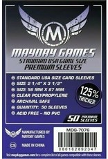 Mayday PREMIUM USA SLEEVES 56MM X 87MM 50CT