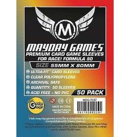 Mayday PREMIUM RACE FORMULA 90 SLEEVES 55mm X 80mm 50CT