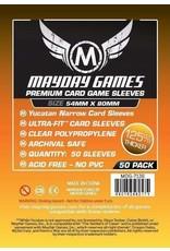 Mayday PREMIUM YUCATAN SLEEVES 54mm X 80mm 50CT