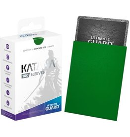 Ultimate Guard UG SLEEVES KATANA GREEN 100CT