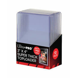 Ultra Pro UP TOPLOAD 3X4 130PT BOX 10CT