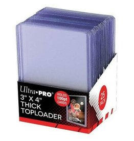 Ultra Pro UP TOPLOAD 3X4 100PT THICK 25CT