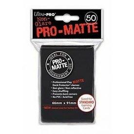 Ultra Pro UP D-PRO PRO-MATTE BLACK 50CT