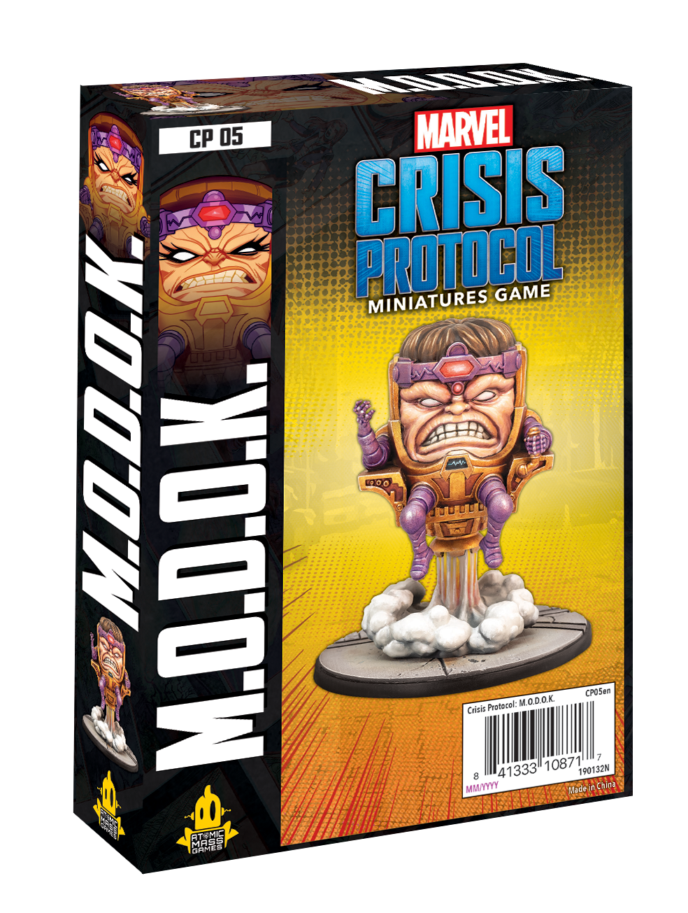 Atomic Mass Games MARVEL CP: M.O.D.O.K. CHARACTER PACK