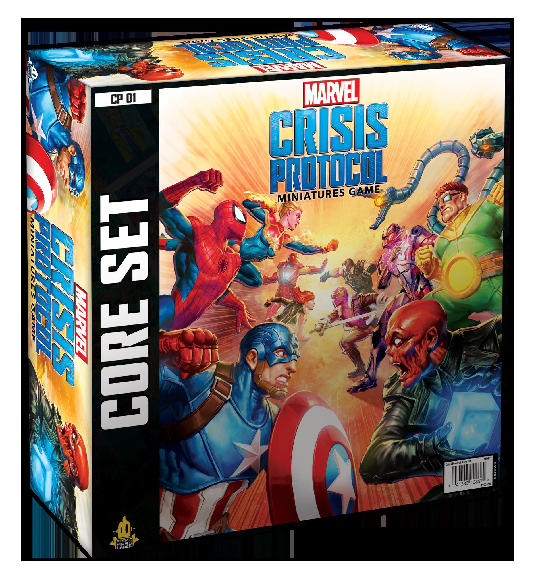 Atomic Mass Games MARVEL: CRISIS PROTOCOL CORE SET
