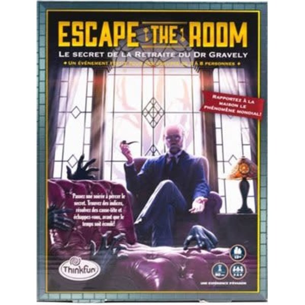 Thinkfun Escape the Room - Gravelys Retreat (FR)