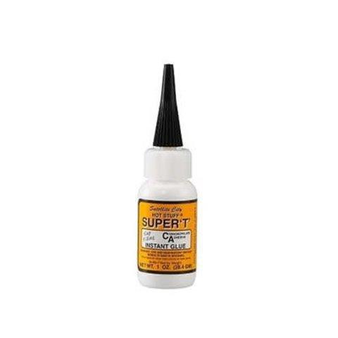 Hst7 Hot Stuff Super T Glue 1 Oz