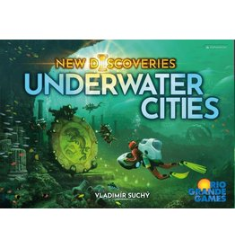 Rio Grande Games UNDERWATER CITIES NEW DISCOVERIES (English)