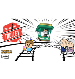 Skybound Games TRIAL BY TROLLEY (English)