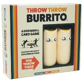 EXPLODING KITTENS THROW THROW BURRITO (English)