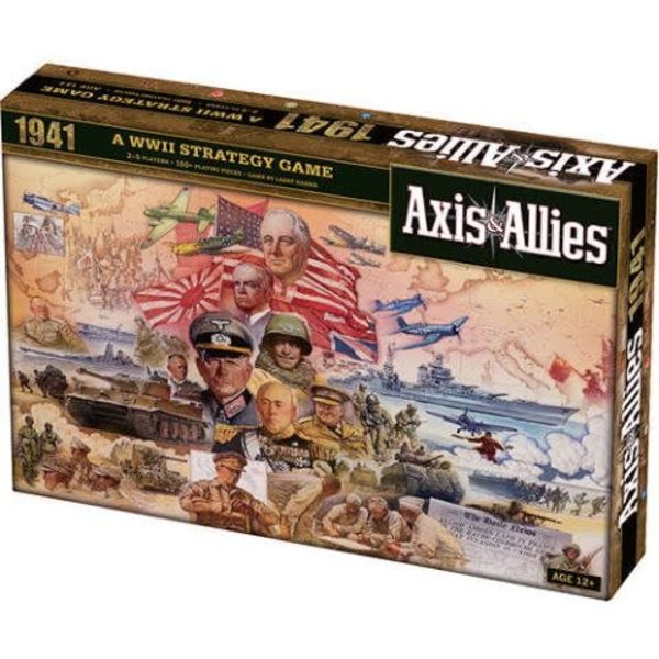 Wizards of the Coast AXIS AND ALLIES 1941 BOARD GAME (English)