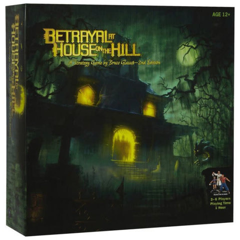 BETRAYAL AT HOUSE ON THE HILL (English)