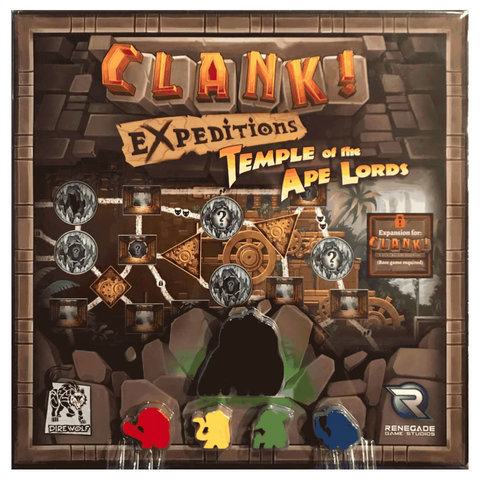 CLANK! EXPEDITIONS: TEMPLE OF THE APE LORDS (English)