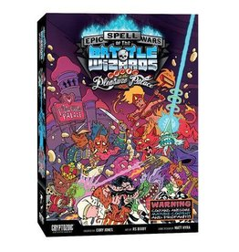 Cryptozoic EPIC SPELL WARS 4: PANIC AT PLEASURE PALACE (English)