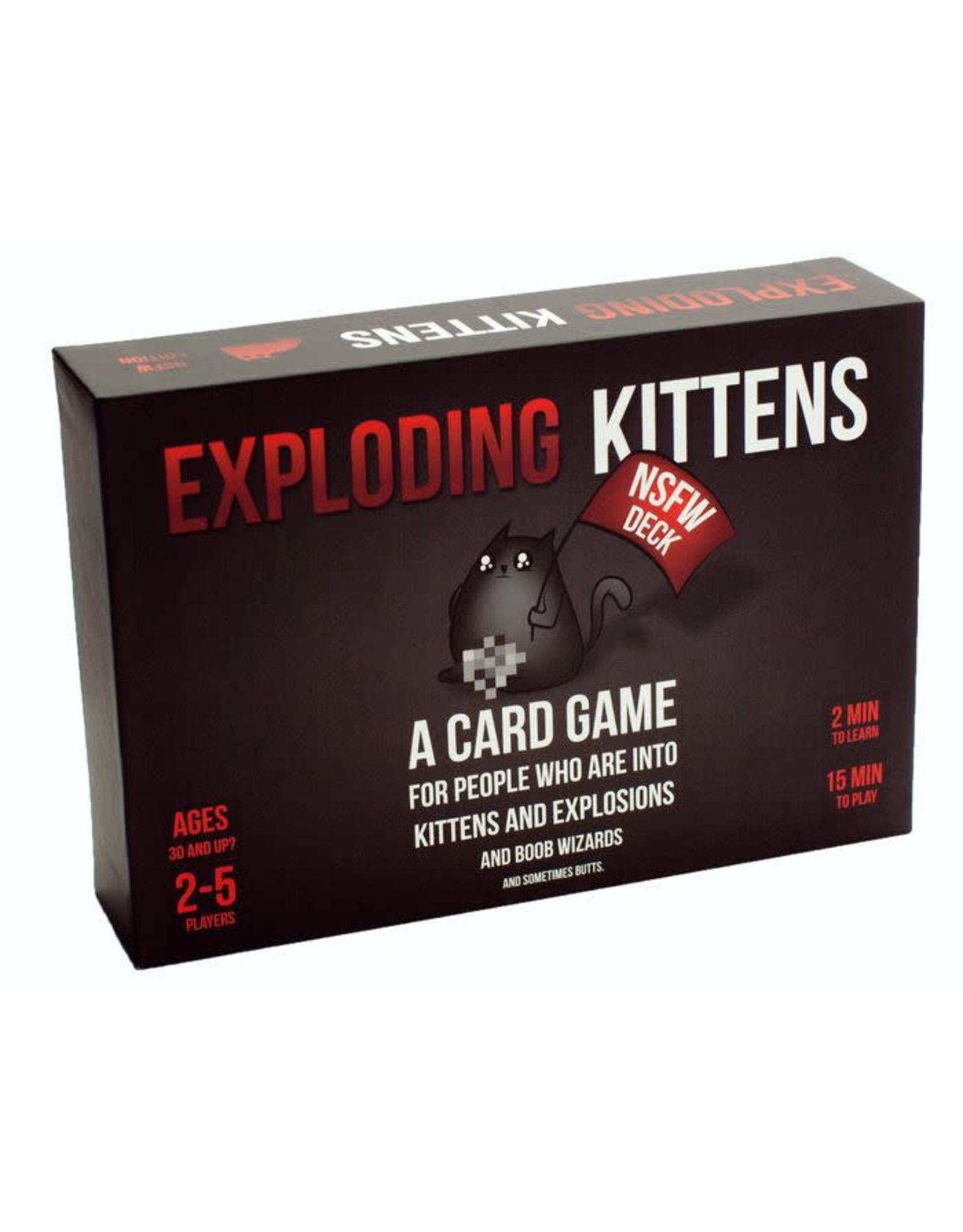 EXPLODING KITTENS EXPLODING KITTENS NSFW EDITION (English)