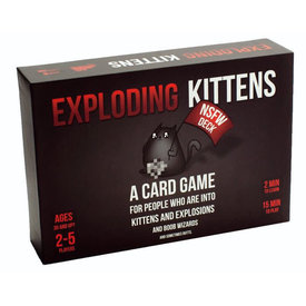 EXPLODING KITTENS EXPLODING KITTENS NSFW EDITION (English)