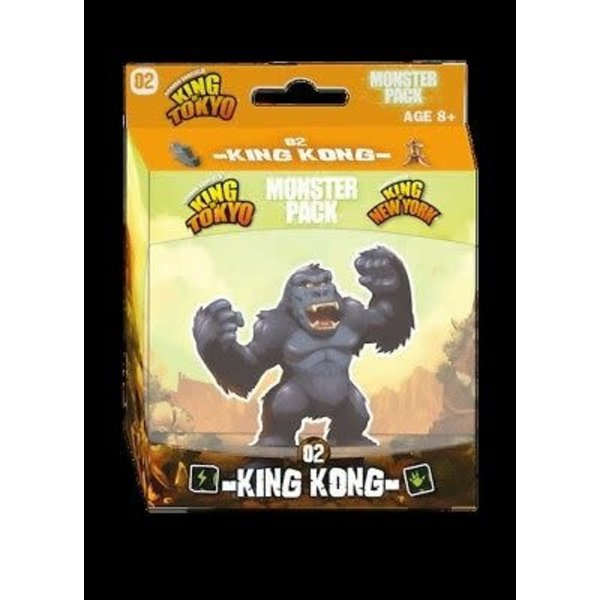 Iello KING OF TOKYO: KING KONG MONSTER PACK (English)
