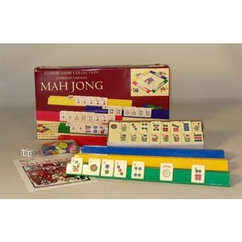 MAH JONGG : BASIC SET AMERICAN VERSION