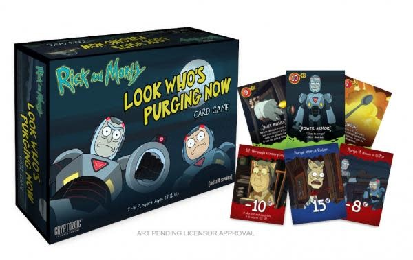 Cryptozoic RICK AND MORTY LOOK WHO'S PURGING NOW (English)