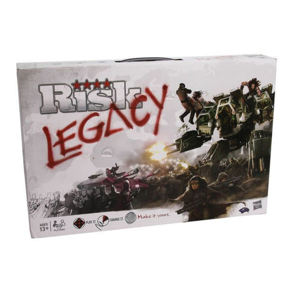 Wizards of the Coast RISK LEGACY (English)