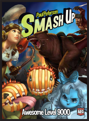 AEG SMASH UP: AWESOME LEVEL 9000 (English)