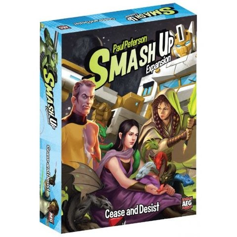 SMASH UP: CEASE AND DESIST (English)