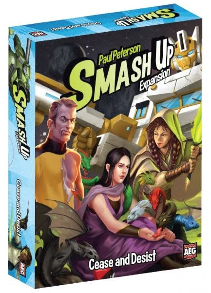 AEG SMASH UP: CEASE AND DESIST (English)