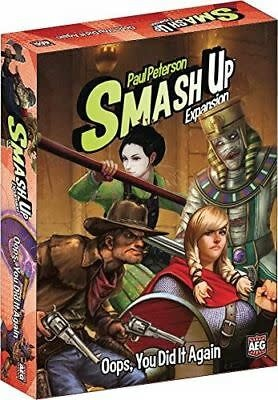AEG SMASH UP: OOPS YOU DID IT AGAIN (English)