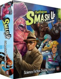 AEG SMASH UP: SCIENCE FICTION/ DOUBLE FEATURE EXP (English)