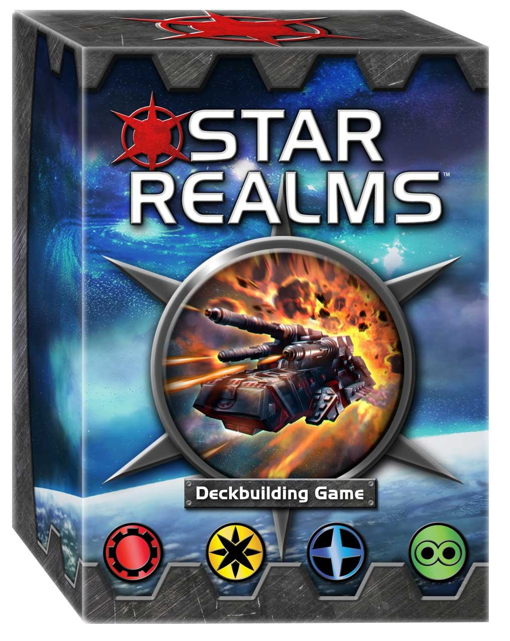 White Wizard Games STAR REALMS DECKBUILDING GAME (English)