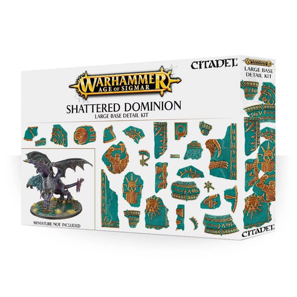 Citadel AOS SHATTERED DOMINION LARGE BASE DETAIL