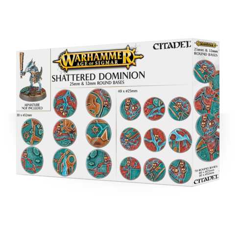 AOS: SHATTERED DOMINION: 25 & 32MM ROUND