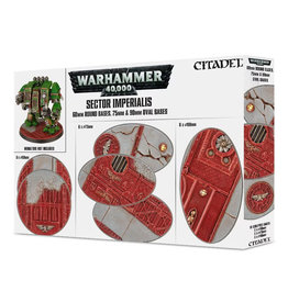 Citadel SECTOR IMPERIALIS: 60MM RD+75/90MM OVAL BASES