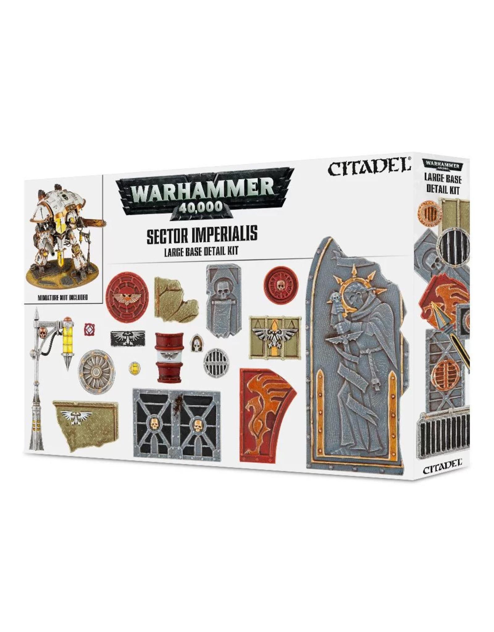 Citadel SECTOR IMPERIALIS: LARGE BASE DETAIL KIT