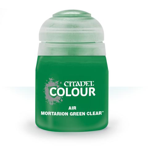 AIR: MORTARION GREEN CLEAR (24ML)