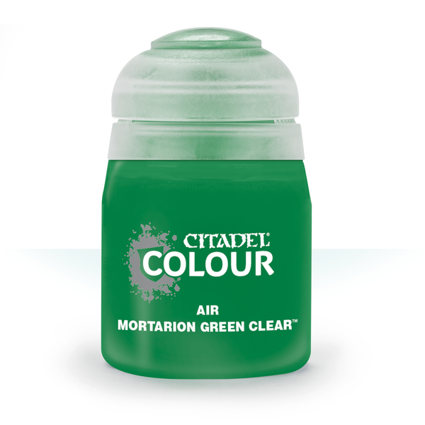 Citadel AIR: MORTARION GREEN CLEAR (24ML)
