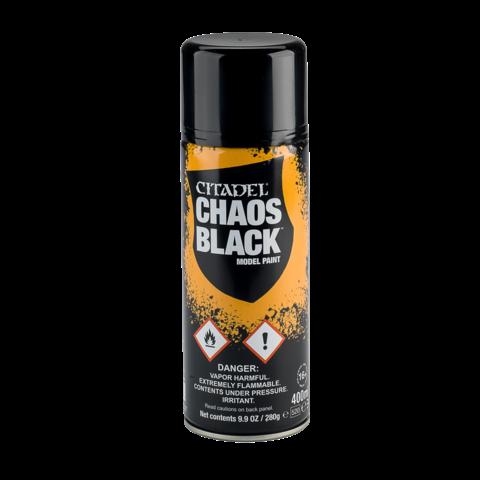 CHAOS BLACK SPRAY PRIMER