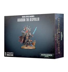 Warhammer 40k CHAOS SPACE MARINES ABADDON DESPOILER