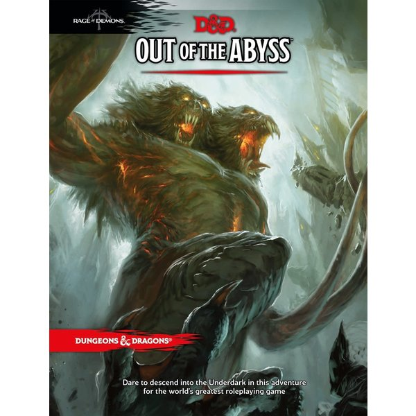 Wizards of the Coast DND OUT OF THE ABYSS
