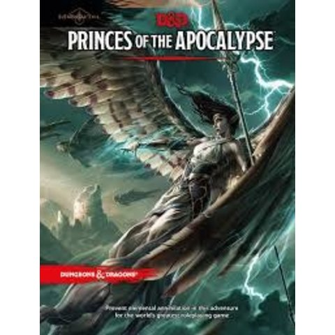 DND ELEMENTAL EVIL PRINCES OF THE APOCALYPSE